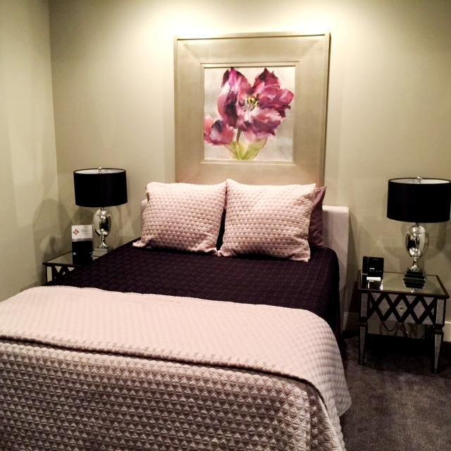 This is a photo of the bedroom of the Studio Suite at the Culpeper Center.