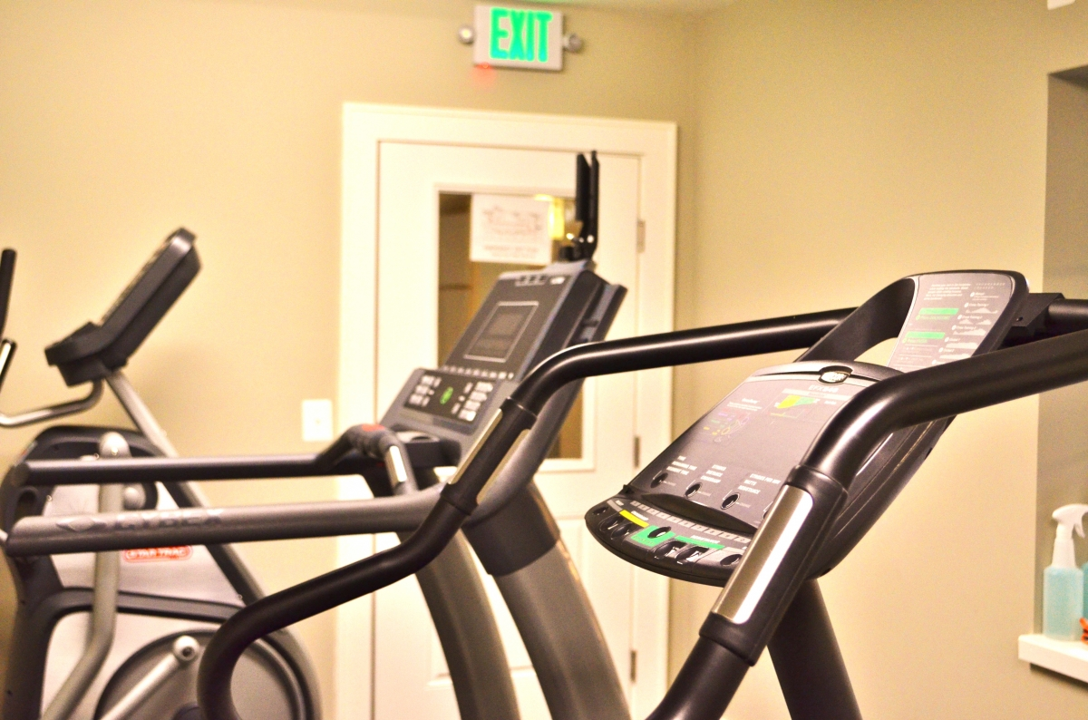 This is a photo of exercise equipment at the Culpeper Center.