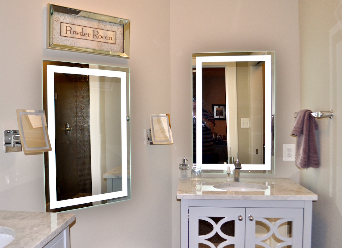 Showing the bathroom of the Studio Suite of the Culpeper Center.