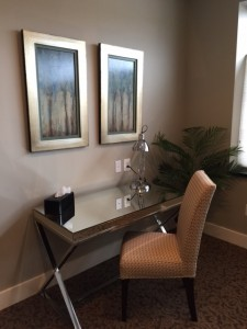 Culpeper Cntr luxury Suite Desk